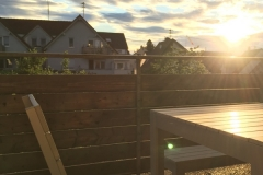 Balkon-Essplatz